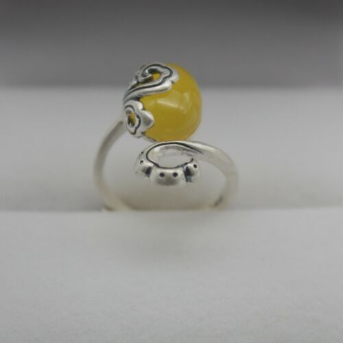 Details about  /New Solid 925 Sterling Silver with Natural Oval Yellow Chalcedony Ring Size 4-9