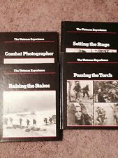 Lot of 4 THE VIETNAM EXPERIENCE books  Boston Publishing Company War Hardcover