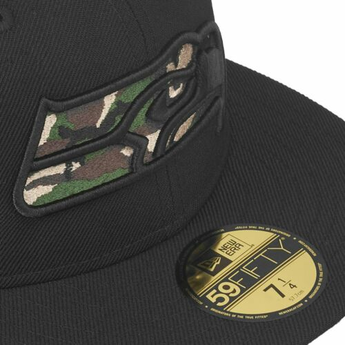 CAMO LOGO Seattle Seahawks New Era 59Fifty Fitted Cap
