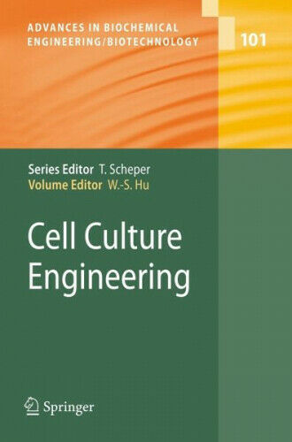 Cell Culture Engineering Wei-Shu Hu Gebundenes Buch Englisch