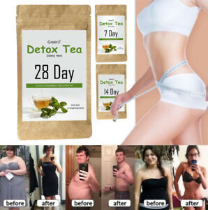 Weight Loss Detox Tea Diet Green Tea Organic Tea For Women Men 7 14
