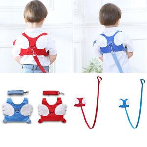 Baby-Kids-Safety-Wing-Walking-Harness-Toddler-Anti-lost-Belt-Backpack-Reins-UK