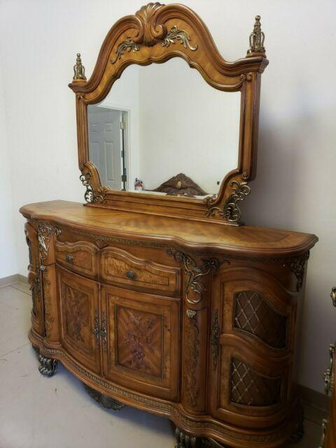 Aico Cortina Honey Walnut Dresser For