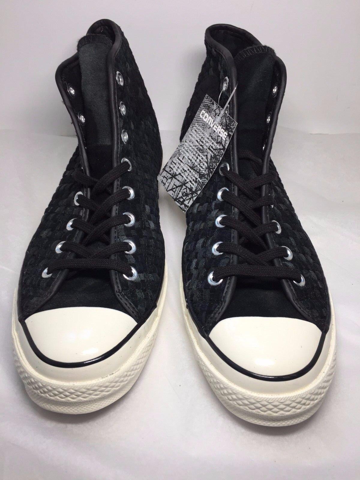 Converse CTAS 1970s Hi Sneaker Black Chuck Textured 151244C Mens 11.5 Chuck Black All Stars c708e2