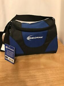 Details about Chaby Bud Light 6 Can Cooler Bag