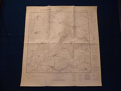 Hingebungsvoll Landkarte Meßtischblatt 3039 Demerthin, Rehfeld, Granzow, Kötzlin, Um 1945