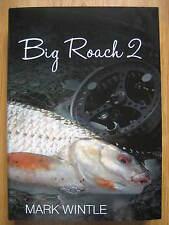 Signed x 2 BIG ROACH 2 Fishing Book Mark Wintle no Perch SOLD OUT FIRST EDITION
