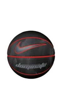 new products 97b23 52487 Image is loading Nike-Dominate-Black-Red-Basketball-Grey-Tick-Rubber-