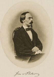 Portraet-des-Hans-von-Buelow-19-Jh-Photogravure
