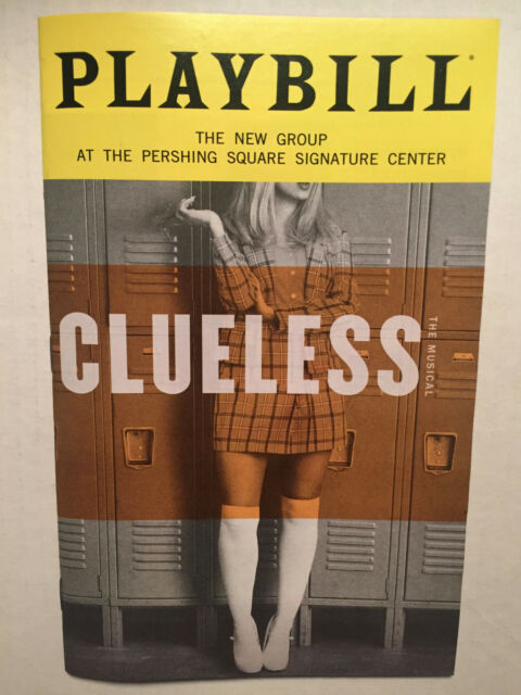 CLUELESS PLAYBILL BOOK NEW YORK BROADWAY JANUARY 2019 Dove Cameron