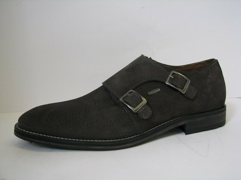 STARSON Classis Chaussures Hommes Cuir Foncé Gris Taille 42 42 Taille 0990eb