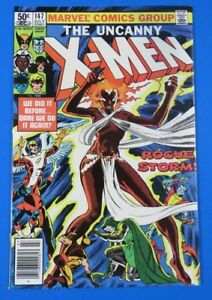 UNCANNY-X-MEN-147-Storm-Colossus-MARVEL-1981-VF