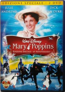 DVD-Mary-Poppins-Edition-Special-2-Discs-45-Anniversary-1964-Used