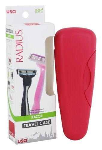 Radius Razor Travel Case Holder Container Colors Will Vary UPC 085178000403