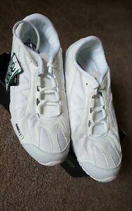 Kaepa Stellarlyte Cheer Shoe, White, Sz