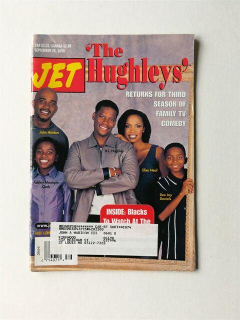 Jet Magazine September 25 2000 D L Hughley In The Hughleys John Henton Ebay