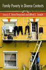 Family Poverty in Diverse Contexts by Taylor & Francis Inc (Paperback, 2008)