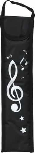 Recorder Bag Woodwind Carry Case Gig School Concert Music Bag BLACK