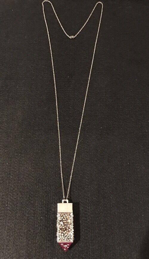 Belle Noel Swarovski Amulet Star Pendant Necklace… - image 2