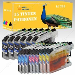 1-hasta-20-Tinta-compatible-con-Brother-LC223-LC221-MFC-J-1170-DW-1180-131