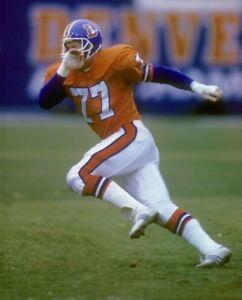 wholesale dealer 0fbdd aeb62 Details about KARL MECKLENBURG 8X10 PHOTO DENVER BRONCOS PICTURE NFL  FOOTBALL