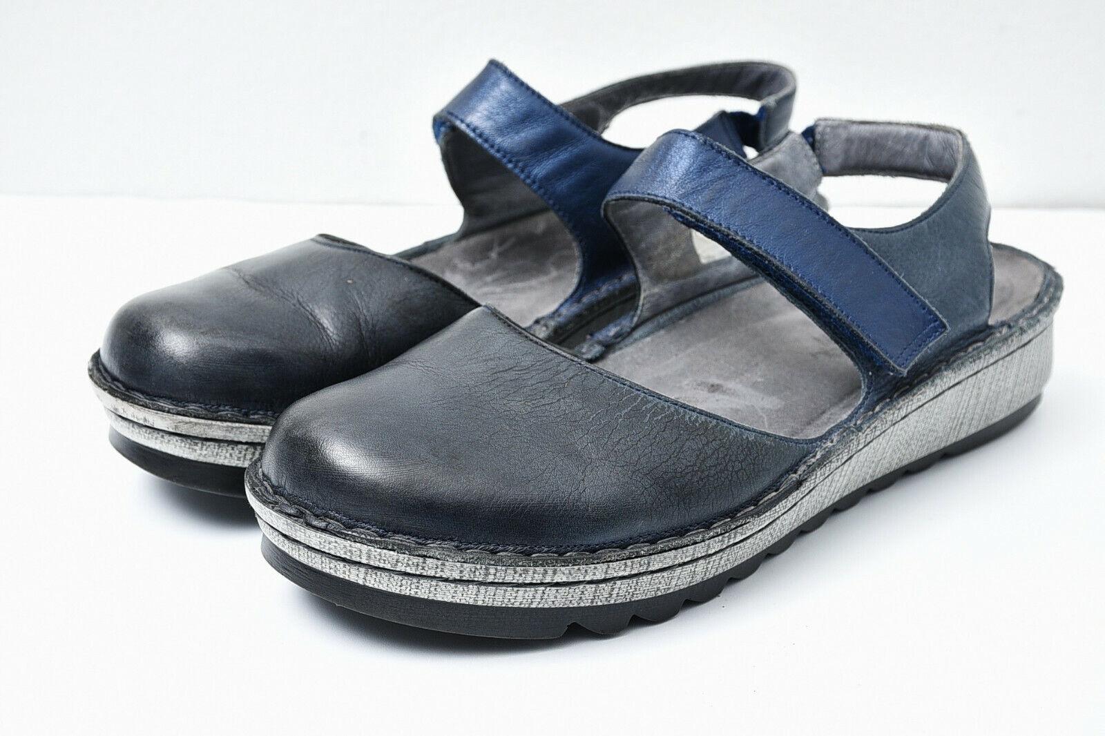 Naot Womens Comfort Leather Maryjane Slingback Shoes Sz 39