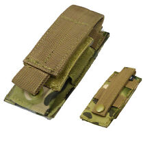 Multicam Single Pistol Mag Pouch Mil-Tec Magazine Pouch Molle Type Airsoft