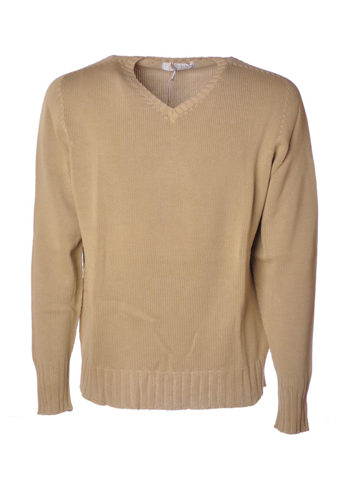 Alpha - Knitwear-Sweaters - Man - Beige - 4623428M184433
