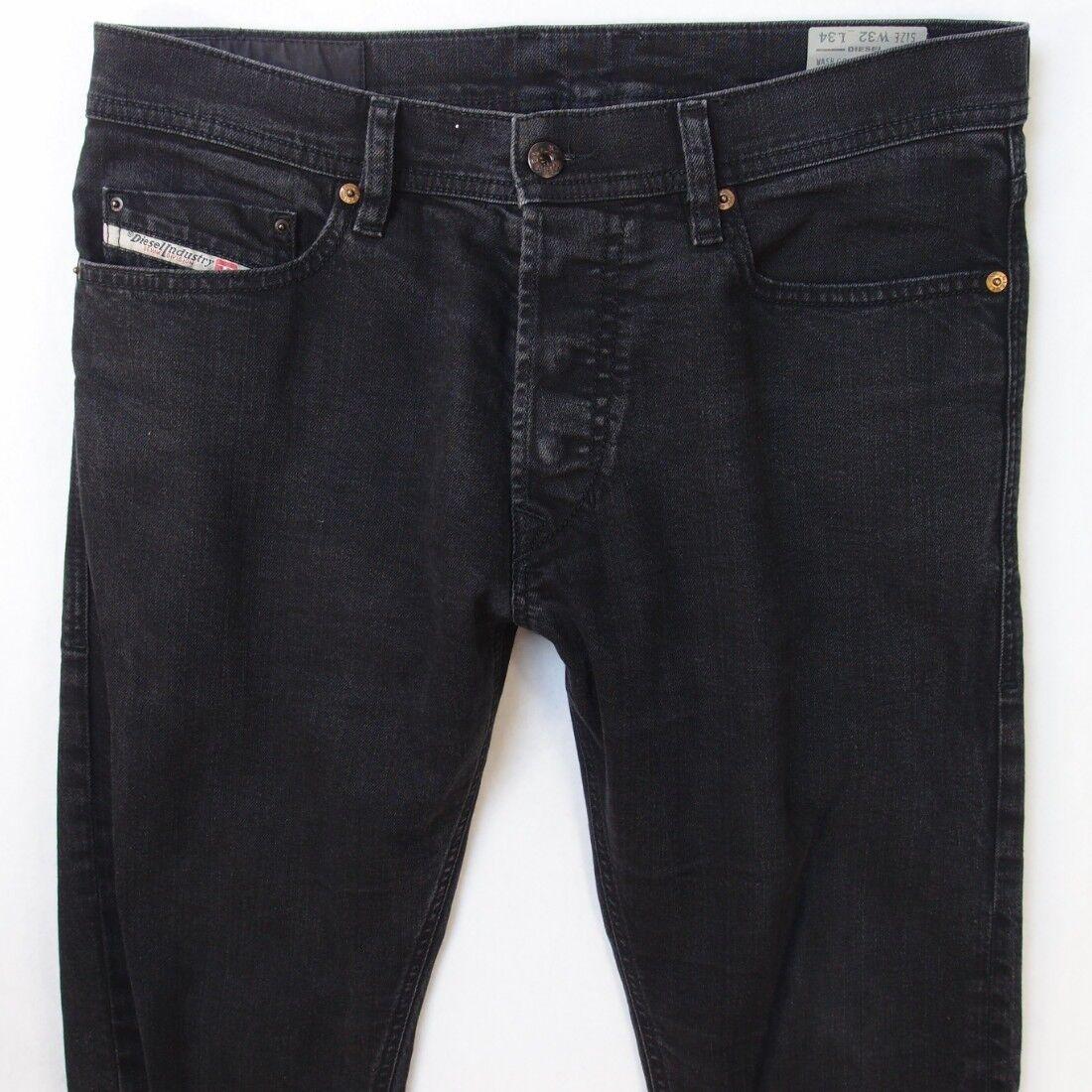 Mens Diesel TEPPHAR 0886Z Stretch Slim Grey Jeans W32 L34