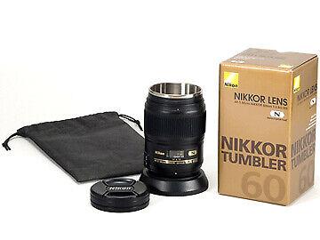 """Nikon NIKKOR micro60  """"TUMBLER"""""""