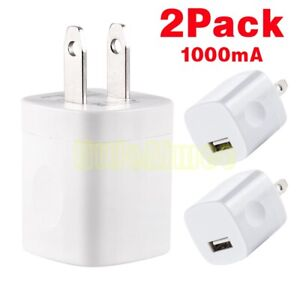 2x-5W-USB-Wall-Charger-Power-Adapter-For-Apple-iPhone-iPads-iPods-Samsung-LG