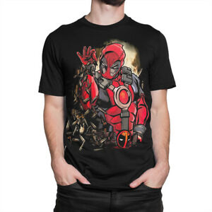 Deadpool-Bullet-Bae-Awesome-T-Shirt-Men-039-s-Women-039-s-All-Sizes