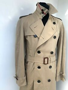 trench coat burberry homme ebay