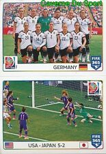 58-59 3RD PLACE GERMANY TEAM FINAL USA-JAPAN FIFA WOMEN'S WORLD CUP FIFA 365