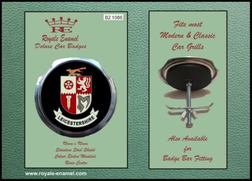 Classic Car Badge /& Bar Clip TRIUMPH MOTORCYCLES DAYTONA B1.2816