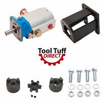 Log Splitter Build Kit 16 Gpm Pump, Coupler, Mount, Bolts, Huskee, Speeco, Etc