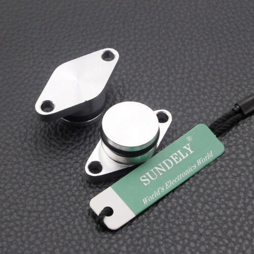 Silver 22mm Diesel Swirl Flap Blanks Bungs Intake Gaskets For BMW E46 330d 520d