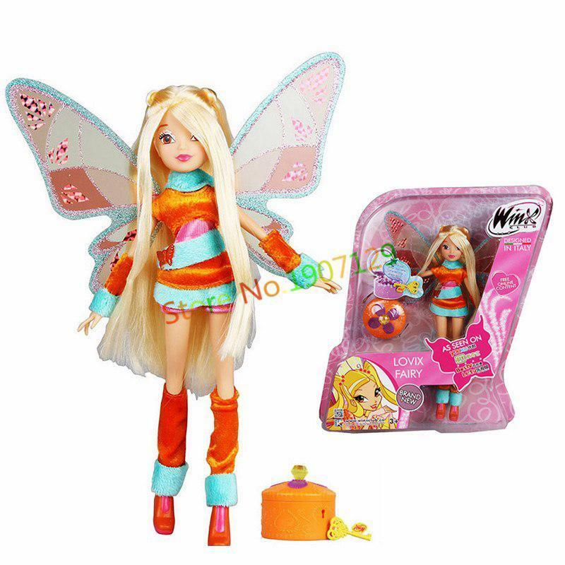 Figures Dolls Girls Action Wings Wings Wings Classic Toys For Kids Children Christmas Gifts 6cf777