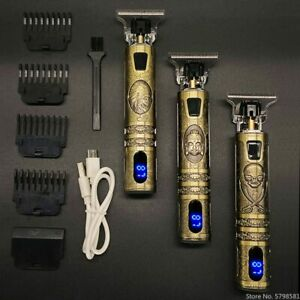 Electric Hair Clipper Rechargeable Shaver Beard Trimmer Professional Men Hair