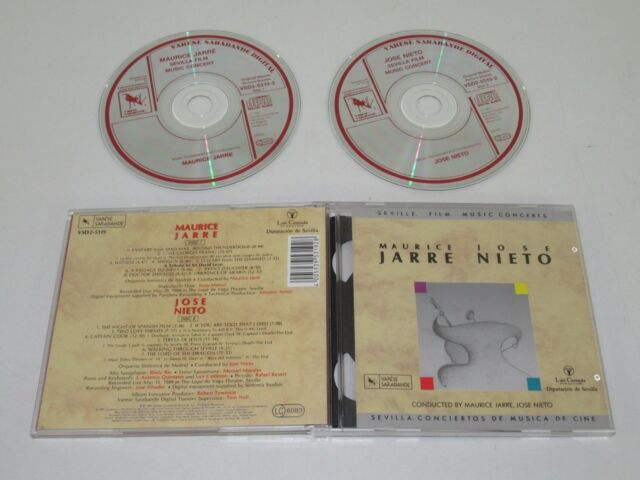 MAURICE JARRE/JOSE NIETO/SEVILLE FILM MUSIC CONCERTS(VSD2-5319) 2XCD ALBUM