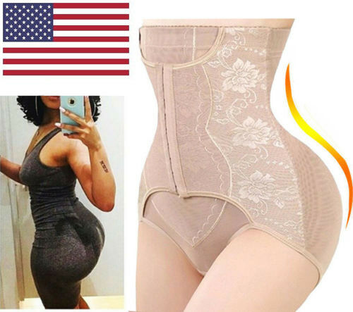 Women/'s Waist Tummy Control Girdle Panty Body Trainer Shaper Butt Lifter Cincher