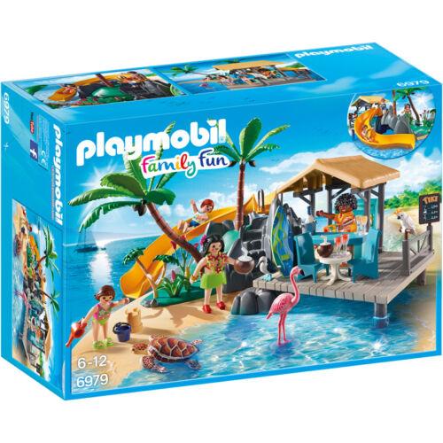 Playmobil Famille Fun île Juice Bar 6979 NEUF