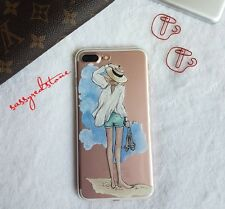 FASHIONISTA IPHONE 7 SOFT CLEAR CASE- Beach Fun