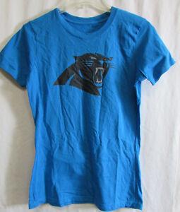 Carolina-Panthers-Women-039-s-Graphic-Short-Sleeve-Shirt-NFL-Size-M-L-A14