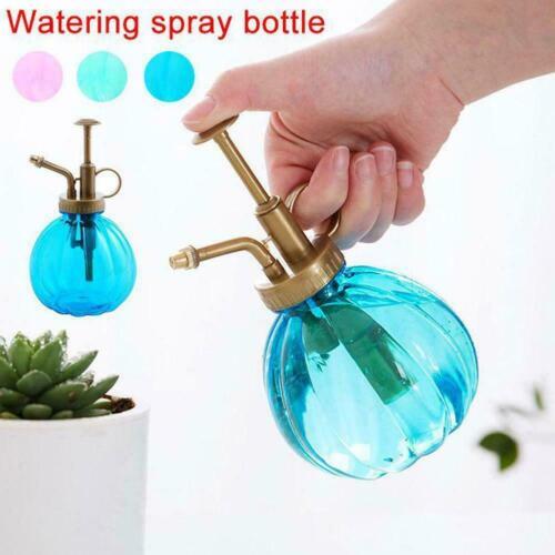 Antique Plant Flower Watering Pot Spray Bottle Garden Mister Sprayer O6R0