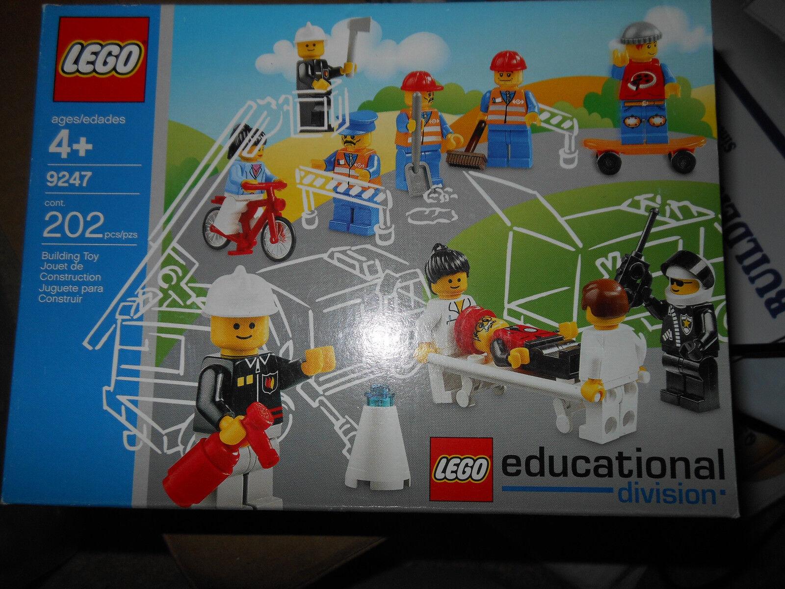 LEGO 9247 -1 Community lavoroers MISB Retirosso  Near Mint scatola Sealed nuovo Very Rare   autentico online