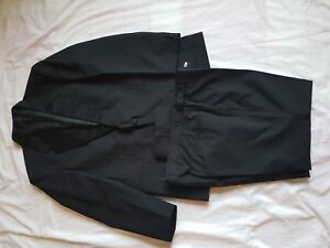 "Mens Mr Harry Black Formal Suit 40"" Chest 34/26 Trousers Herrenmode"