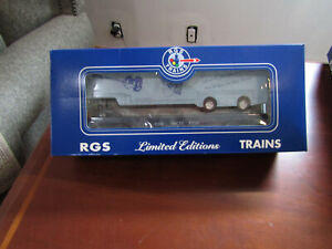 BEATLES-PAUL-McCARTNEY-TRAIN-CAR-FLATCAR-W-TRAILER-VERY-RARE