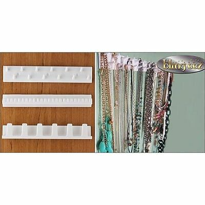 Blingeez Jewelry Ring Necklace Earring Organizer Jewelry Display As Seen On TV W