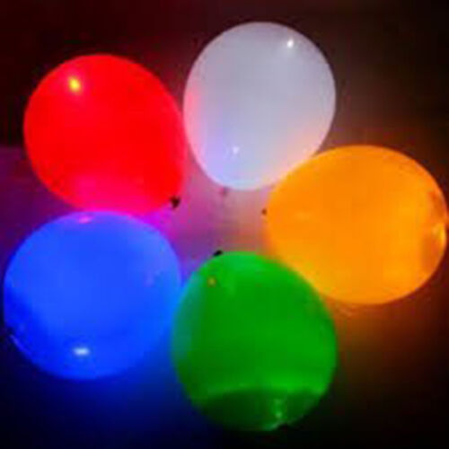 Multi packs of between 5-100 Quality Flashing Mini LED balloon light balloons